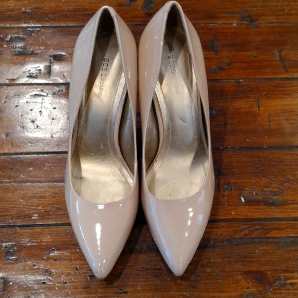 Size 8.5 nude heels